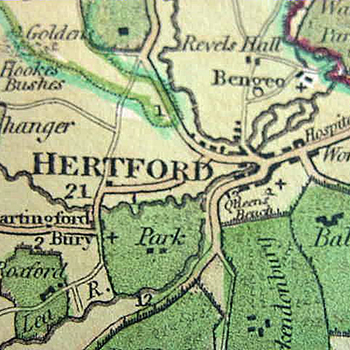 Hertford Map